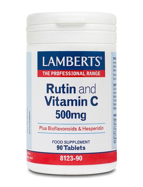 C-vitamiin ja rutiin 500 mg tabletid